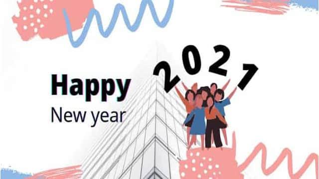happy new year 2021 short poem