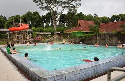 Pemandian Air Panas Ciwalini - Ciwidey - tempat wisata di bandung