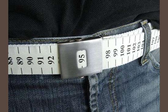 Invenções mais interessantes do mundo - Cinto medidor de cintura
