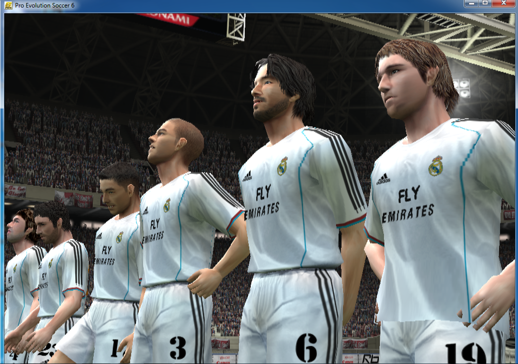 Download Latest Update PES 6 Players, 2019 (June, July, August)