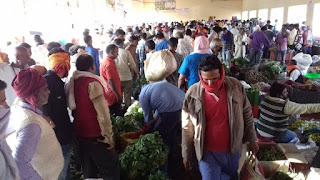 जौनपुर : नवीन सब्जी मण्डी बन सकती है महामारी फैलने का कारण