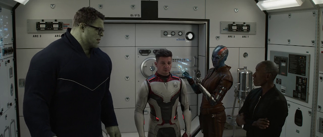 Avengers: Endgame (2019) Dual Audio [Hindi-Cleaned] 720p BluRay ESubs Download