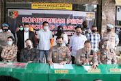 Polresta Bandar Lampung Ungkap Kasus Dugaan Tindak Pidana Prostitusi Online
