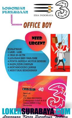 Lowongan Kerja Surabaya SMA SMK D3 S1 CV Esia Indopraya April 2020