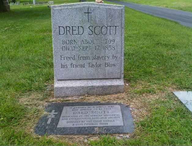 My Ancestor's Name: A Cemetery Visit: Honoring Dred Scott