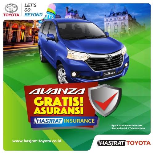 Promo Avanza Gratis Asuransi Toyota Manado