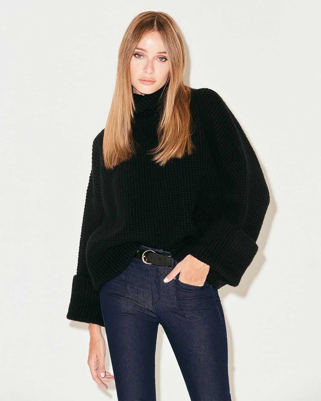 polerones tejidos invierno 2021 moda mujer