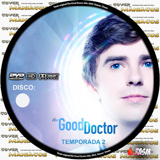 GALLETA THE GOOD DOCTOR - TEMPORADA 2 - 2018 [COVER DVD]