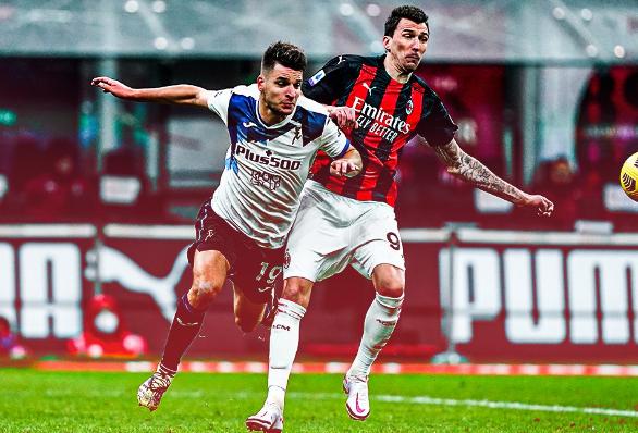 Serie A, il Milan crolla in casa