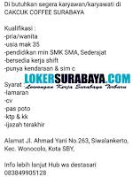 Lowongan Kerja di Cakcuk Coffee Surabaya September 2020