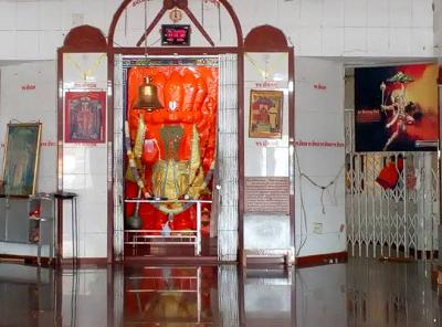 Garbh Gruh of Bhid  Bhanjan Hanuman Harni Road Vadodra
