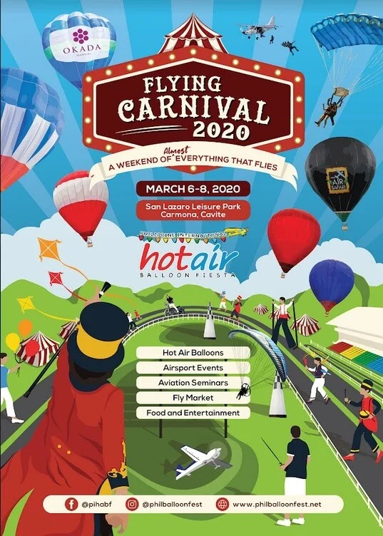 See The Flying Carnival (Hot Air Balloon Fiesta) 2020 In Carmona, Cavite