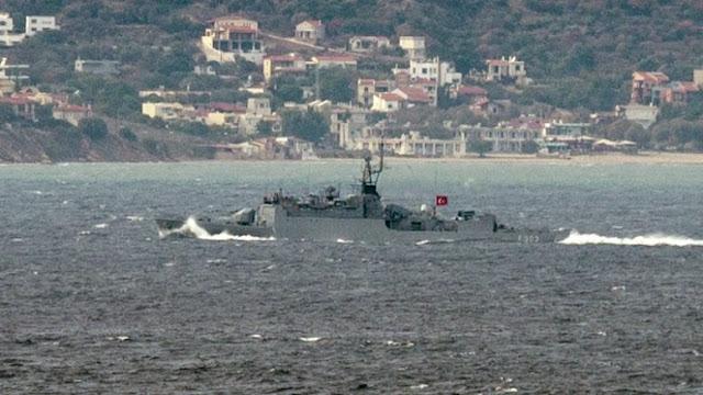 Οι Τούρκοι δέσμευσαν πάλι τη μισή Μεσόγειο