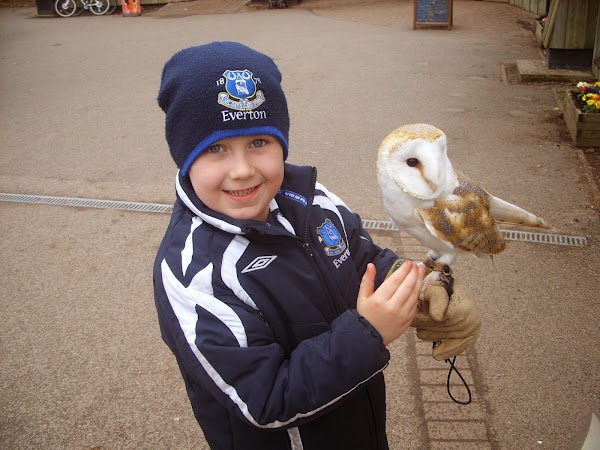 Flashback Friday - Big J Holds An Owl