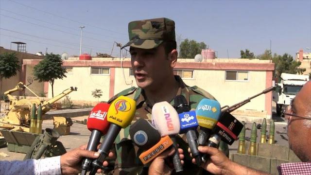 Ejército sirio decomisa armas estadounidenses en zonas liberadas