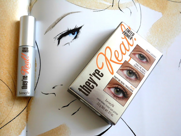 Benefit They`re Real! Eyelash Primer Review
