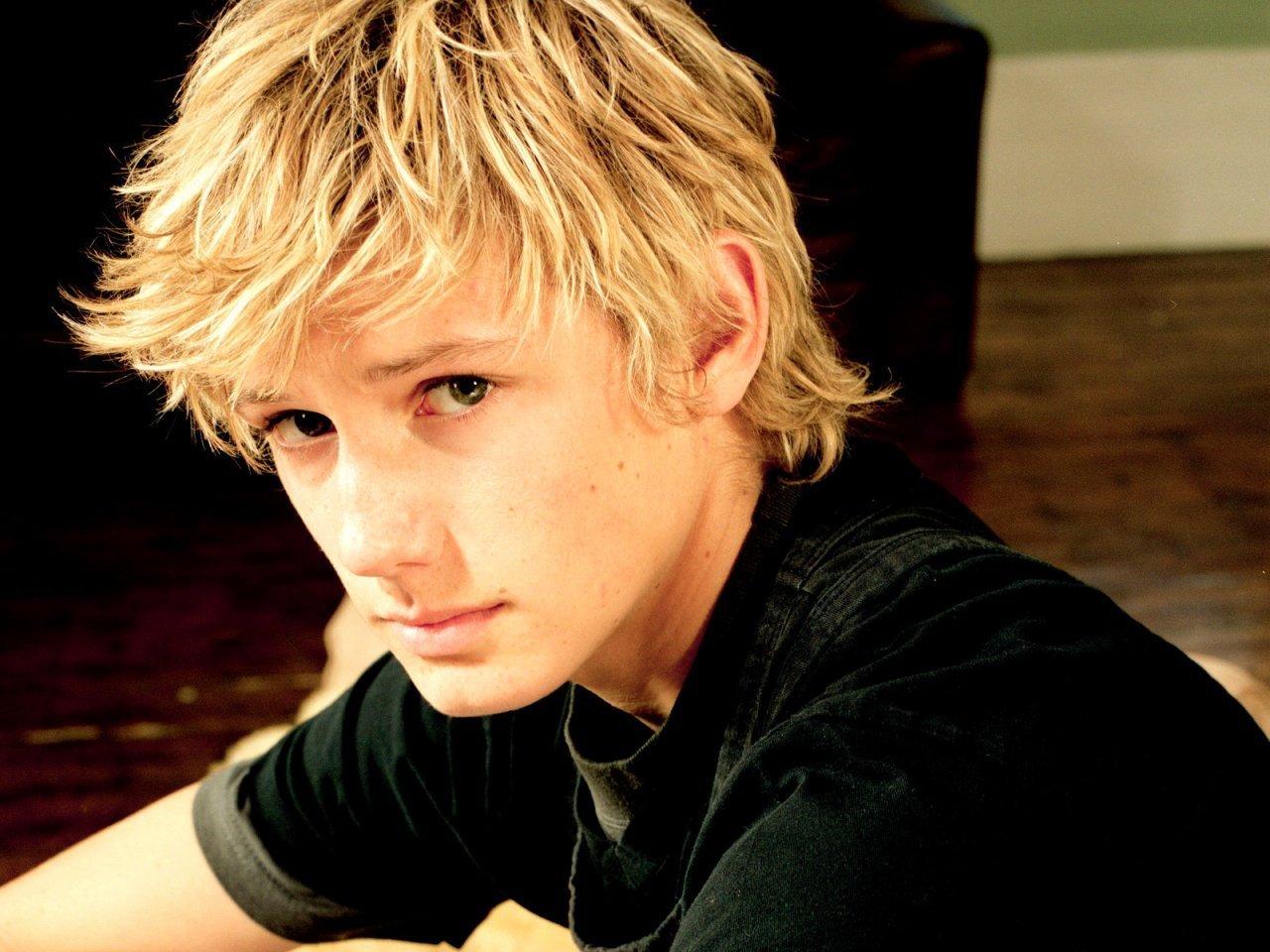 Cute guys with blonde hair