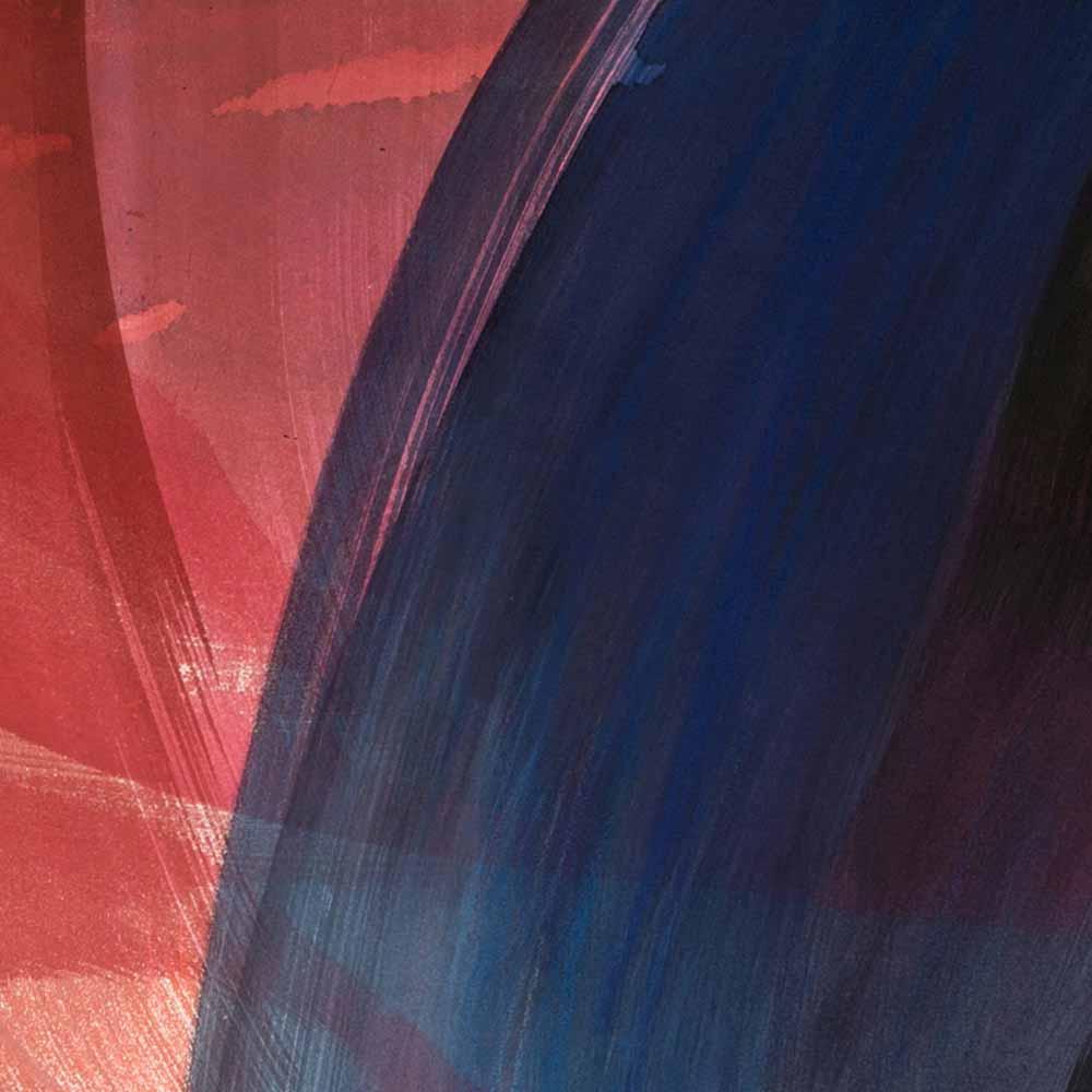 Aquarelle détail 2, 110 x 144 cm, mai 19 © Annik Reymond