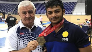 Deepak Punia won Gold Medal at the Junior Worlds