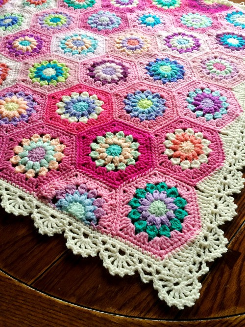 Treble Scallop Edging - Free Pattern