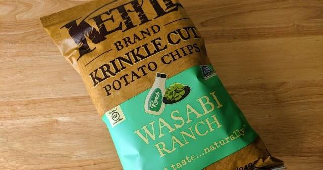 Review Kettle Brand Wasabi Ranch Krinkle Cut Potato