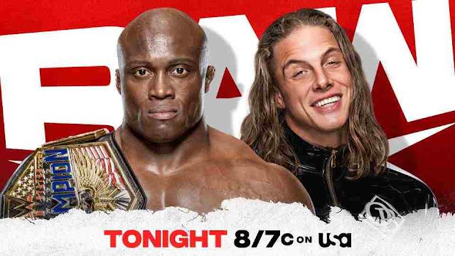Live broadcast of WWE Raw February 01, 2021