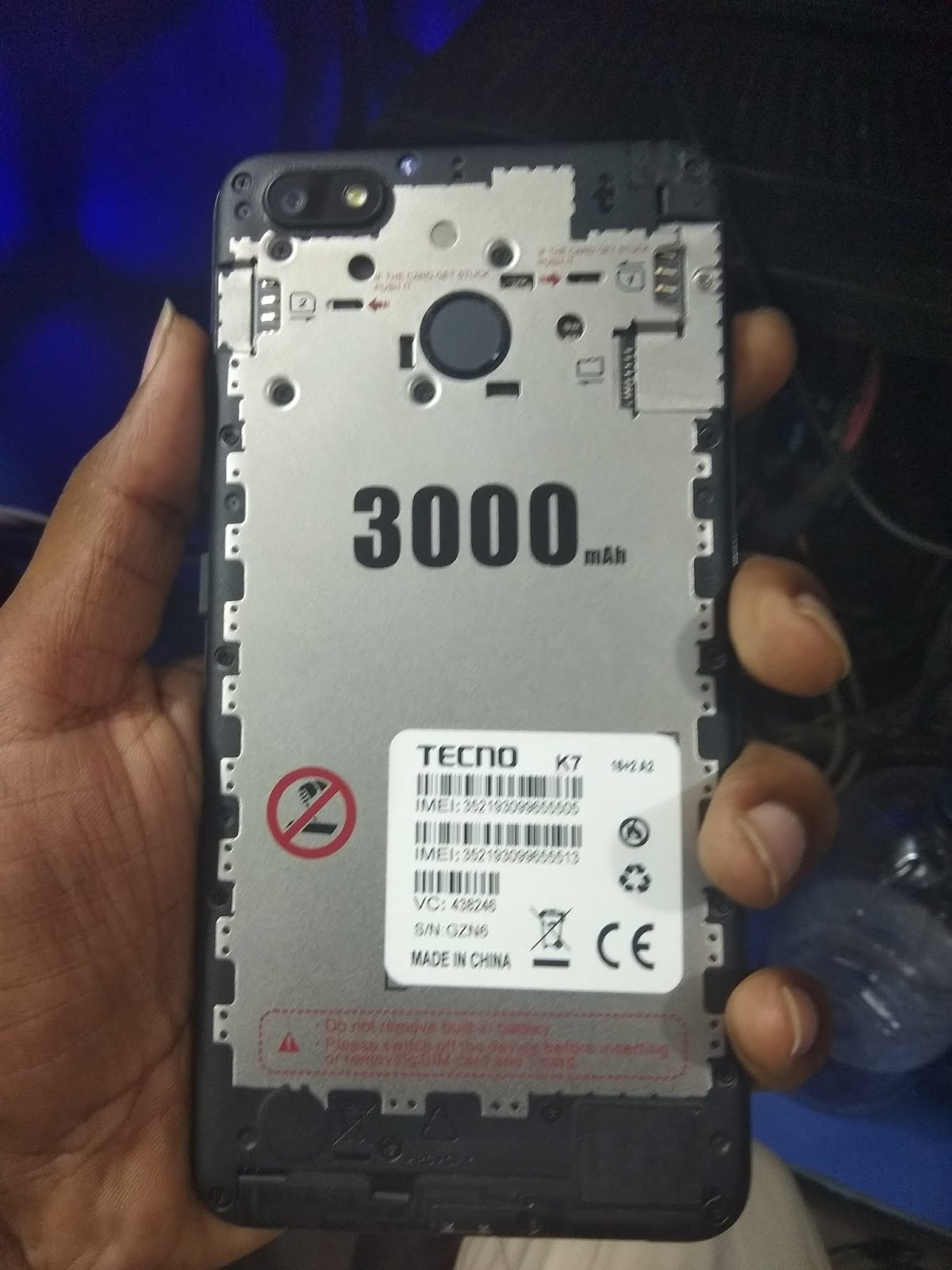 Tecno K7 MT6580 Tested Dead Recovery Firmware - Tested Rom