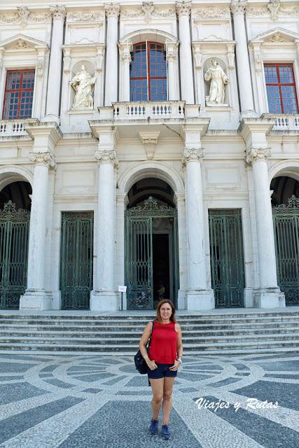 Detalle del Palacio Nacional de Mafra