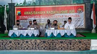 Polda Jateng, Polres Temanggung Dan Ponpes Nida' Al-Qur'an Temanggung, Ajak Santri Siaga Covid-19, Dan Jauhi Radikalisme ISIS