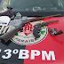 Em Itaporanga (PB): polícia prende trio suspeito de tráfico de drogas e apreende armas