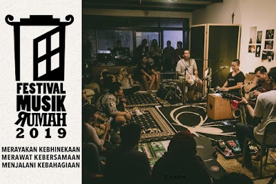 Festival Musik Rumah 2019, Festival Musik 'Unik' yang ada di Indonesia!