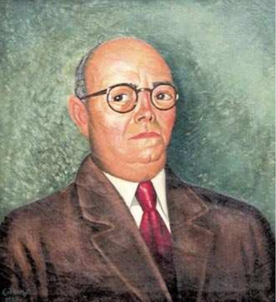 Retrato del cónsul italiano Juan Grisolía Ciliberti, 1953