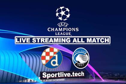 Live Streaming Dinamo Zagreb vs Atalanta- UEFA Champions League