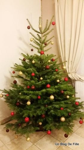 Un blog de fille d coration sapin de no l traditionnel for Decoration lumignon 8 decembre