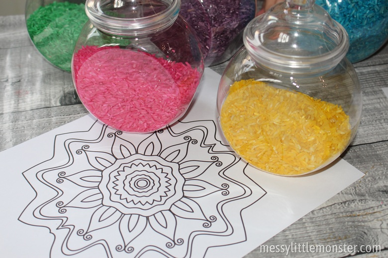 Printable Rangoli patterns template