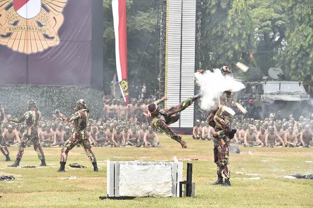 HUT Kopassus ke-67, Panglima TNI: Jadilah Pasukan Khusus yang Berkelas Dunia