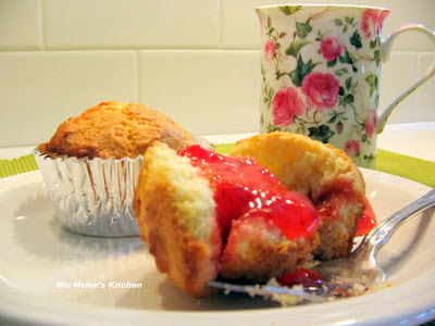 Strawberry Jalapeno Muffins