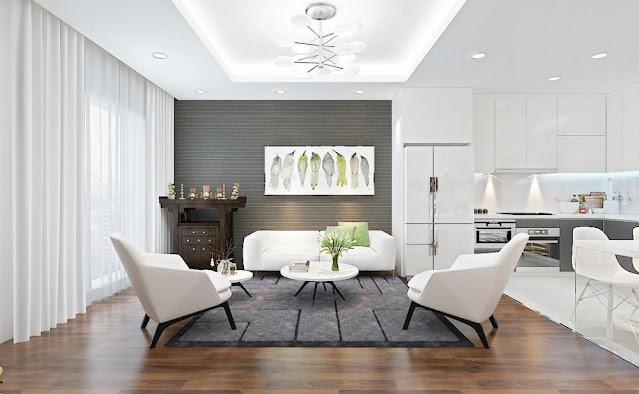 Hướng dẫn lựa chọn đèn trang trí phòng khách đơn giản