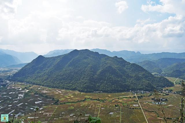 Mirador de Mai Chau, Vietnam
