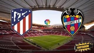 Атлетико Мадрид - Леванте смотреть онлайн бесплатно 04 января 2020 прямая трансляция в 20:30 МСК.