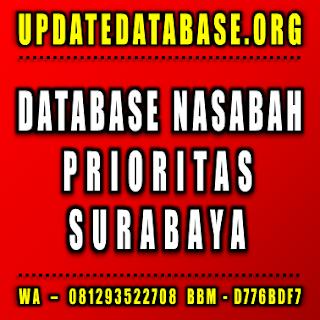 Jual Database Nasabah Surabaya