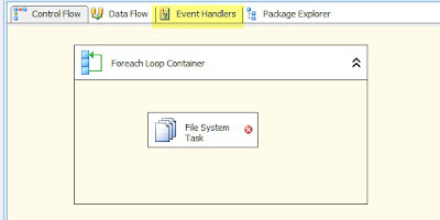 Another SQL Blog - Jason Yousef: SSIS Foreach Loop Container