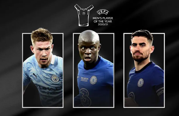UEFA Men's women coach Player of the Year
