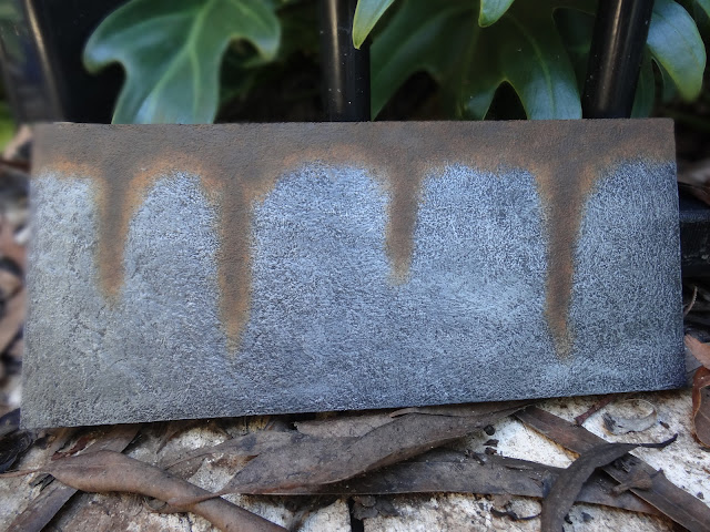Rust effect for props and cosplay