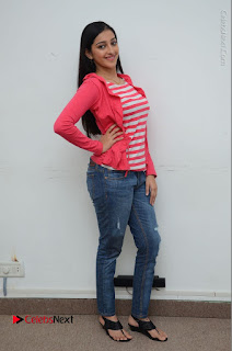 Telugu Actress Mouryani Latest Pos in Blue Denim Jeans  0213.JPG