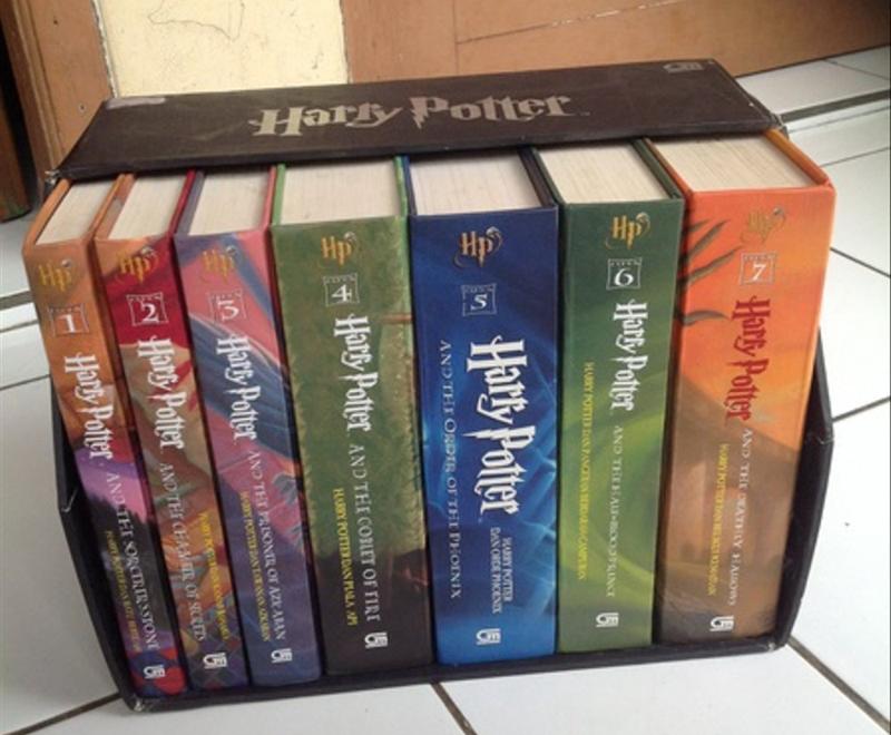 Novel Harry Potter Versi Lengkap Hardcover
