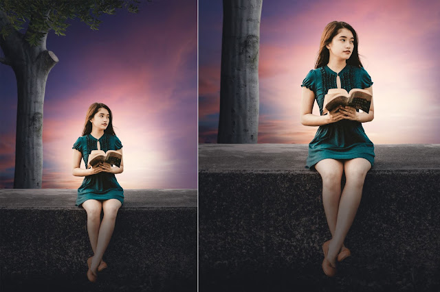 Fantasy Manipulation Photoshop Tutorial - Read Book