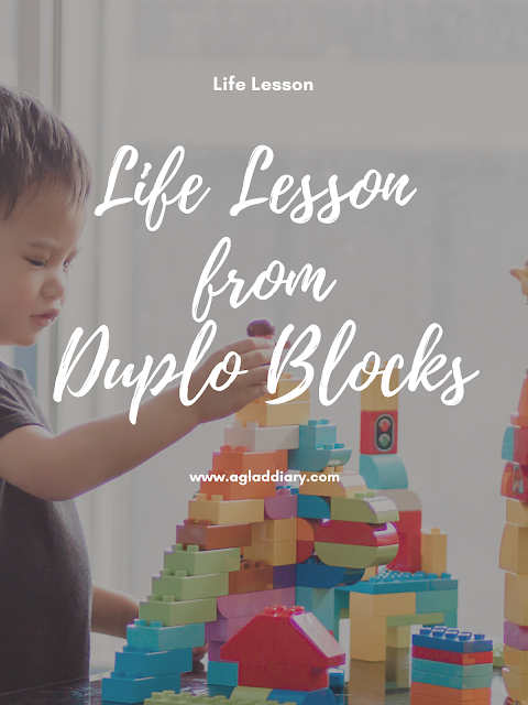 Life Lesson from Duplo Blocks