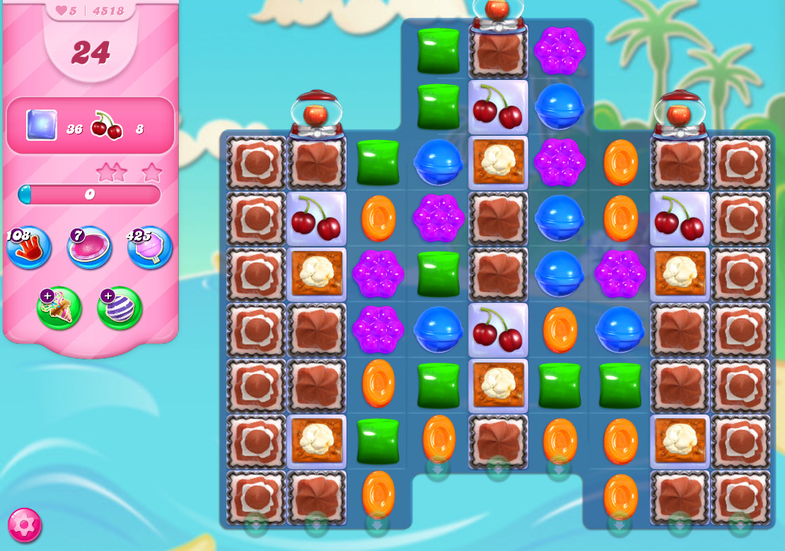 Candy Crush Saga level 4518