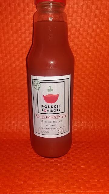 Sok pomidorowy ostry Polskie pomidory